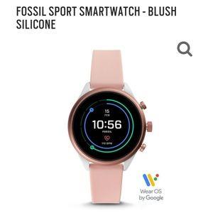 Fossil Sport Smartwatch: Like New!